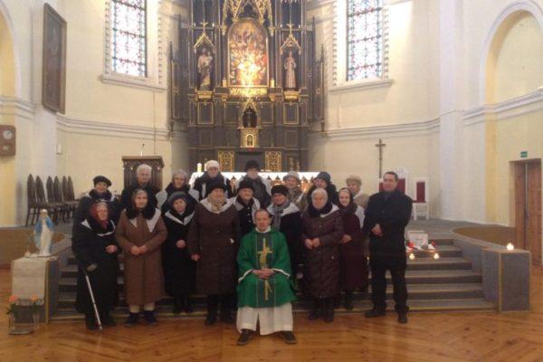 Marijos legiono narių šventė